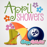 What Could Be Better Than April Showers and Bingo!
