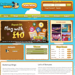 Butter Cup Bingo Home Page