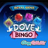 A Cluster of Fun and Wins of Up to £60K Await in the New Royal Gems Slot at Dove Bingo