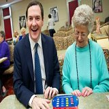 The Chancellor Gets a Cold Reception at Bingo