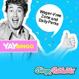 Say Yay to Wager-Free Zone and Daily Perks at Yay Bingo