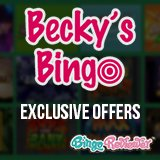 Choose Among 29 Exclusives At Becky's Bingo