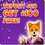 Foxy Bingo Massive Bonus Offer