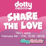 Win a Share of £56,000 in Guaranteed Prizes at Dotty Bingo