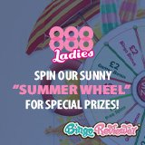 Summer Treats Mean Guaranteed Extras at 888 Ladies Bingo