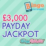 Up to £3,000 in free bingo at Bingo Anywhere!
