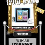 Sing Bingo Win an iPod Nano Tonight