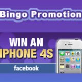 Ladbrokes Bingo Launch Free iPhone 4S Facebook Promotion