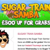 Wednesday is Sugar Train Samba Day at Sing Bingo