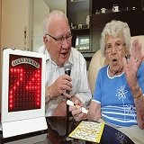 Woman Celebrates 103rd Birthday Playing Bingo